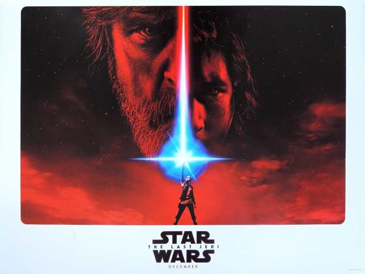 Star Wars - The Last Jedi - poster