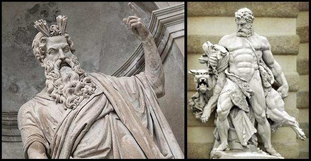 Zeus e Hercules